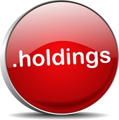 holding .holdings web domain ending button