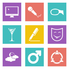 Icons for Web Design set 21
