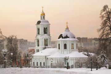 Церковь Пресвятой Богородицы Живоносный источник в Царицыно