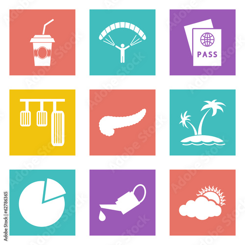 Icons for Web Design set 22
