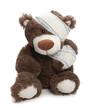 ours teddy blessé - 62787506