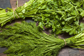 Parsley and Dill