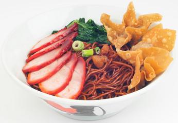 Wanton noodle, dried wanton noodle