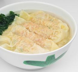 Wonton Soup. pork soup