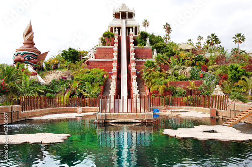 The Tower of Power water attraction