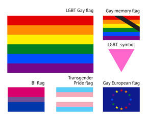 LGBT Gay flags