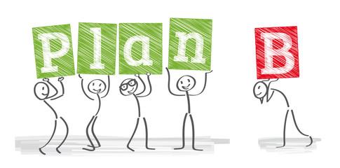 Planung B, Alternative