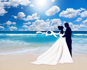 Медовый месяц. На берегу моря