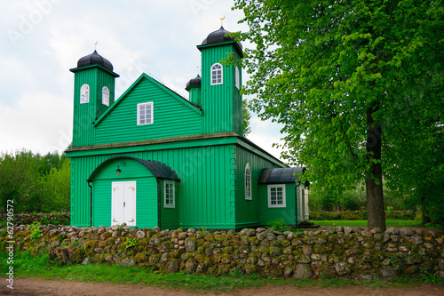Wooden Muslim Mosque in Kruszyniany, Poland