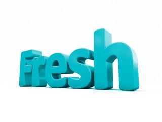 3d word fresh