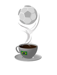 Brazil ball coffee