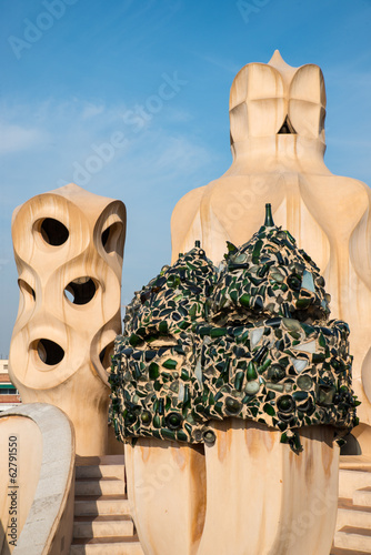 canvas print picture La Pedrera