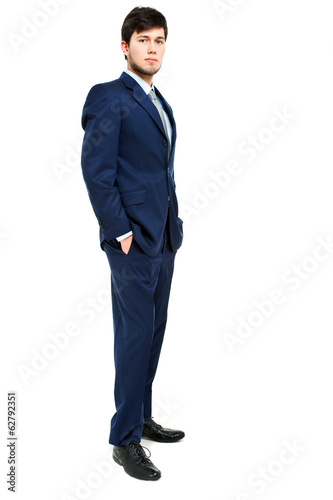 Businessman full length