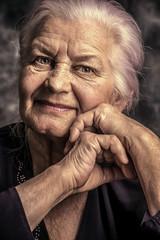 smiling elderly