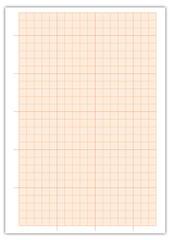 feuille entière de papier millimétré