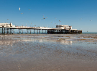 Worthing beach, West Sussex, United Kingdom