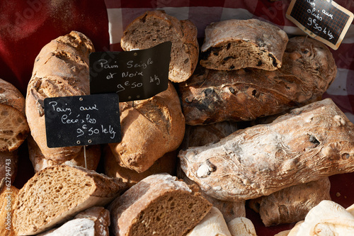Traditional Provence bread