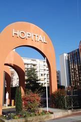 Hôpital du Perpétuel secours à Levallois-Perret (92), France