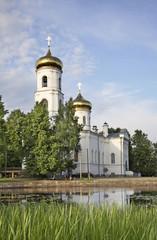 Богоявленский собор в Вышнем Волочке. Тверская область. Россия