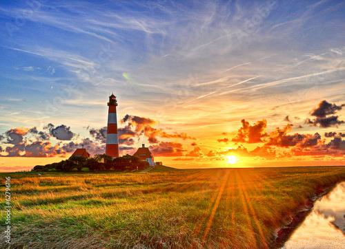 Westerhever Leuchtturm - 62796116