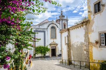 Church in Obidos, Portugal