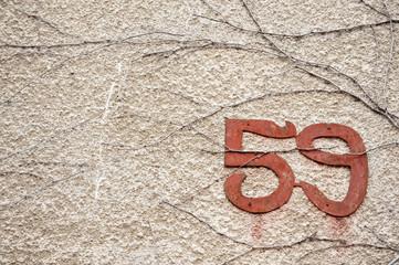 Old street number