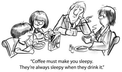 Sleepy coffee