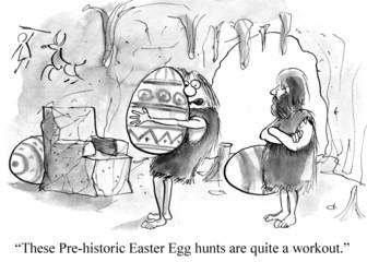 Prehistoric Easter