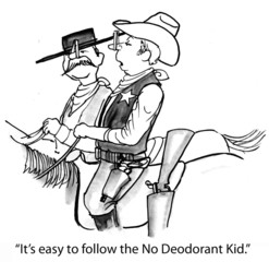 The No Deodorant Kid