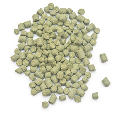 pellets of hops