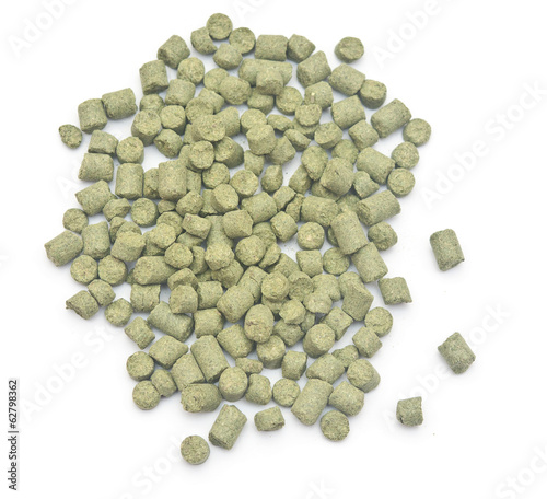 pellets of hops