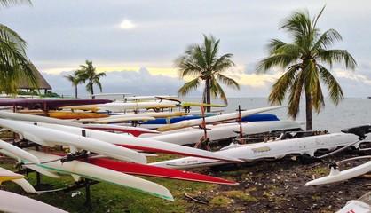 Pao Fai park in Papeete - capital of French Polynesia