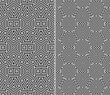 Set of Two Seamless Patterns