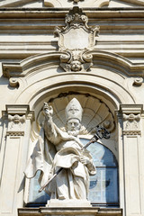 Facciata cattedrale di San Donato in Mondovi - A.D. 1753