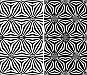 Seamless Triangle Elements Pattern