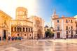 canvas print picture - Valencia, Altstadt