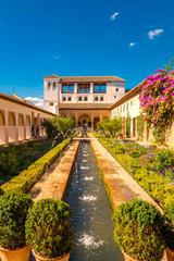 Wasserspiel, Alhambra Granada