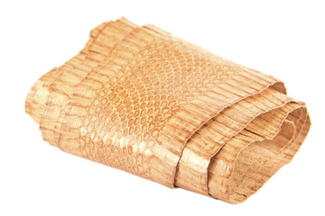 Snake skin roll