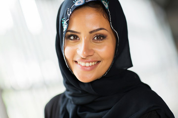 middle eastern woman close up