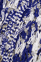 Salvador Brazil Carnival Decorations Blue and White
