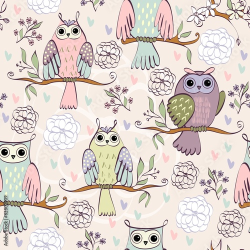 illustration-with-owl-sitting-on-the-branches