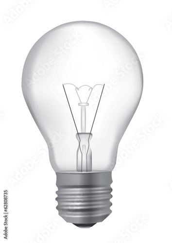 Light Bulb realistic drawing