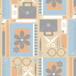Seamless pattern with elements for school
