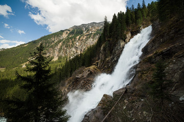 waterfall Krimml (Austria)