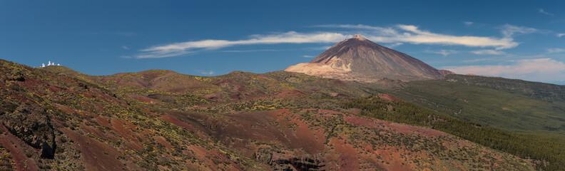 Panorama Teide e Izaña