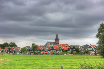 the island of Marken, Holland, Netherlands