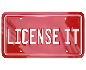 License It Vanity Plate Approval Authorization Official Certific