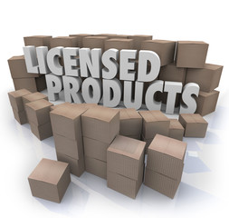 Licensed Products Official Original Authorized Merchandise Boxes