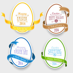 Easter emblems