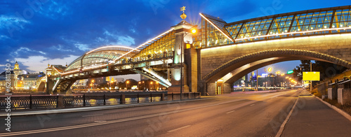 Bogdan Khmelnitsky bridge in Moscow
